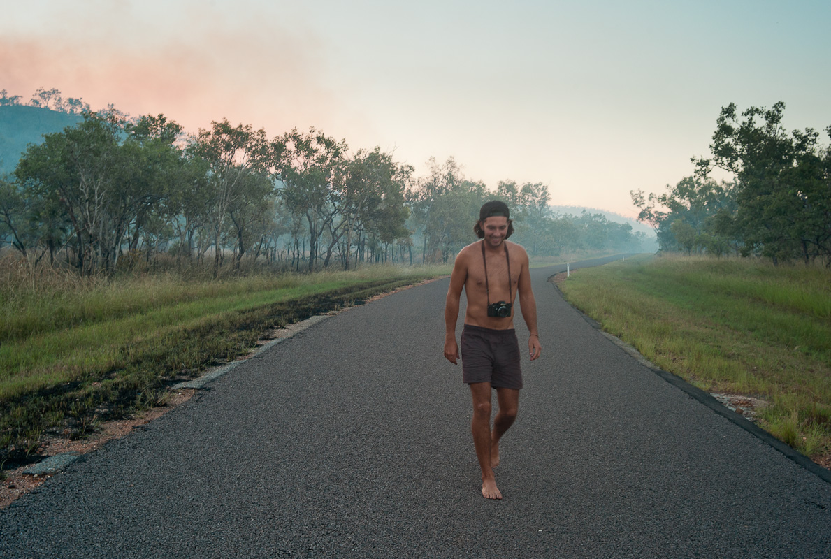 Bushfire, near Litchfield National Park