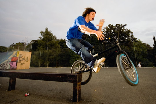 feeble, barspin out