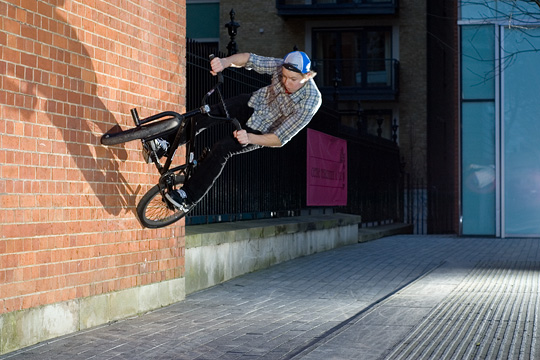 kerb to wallride gap